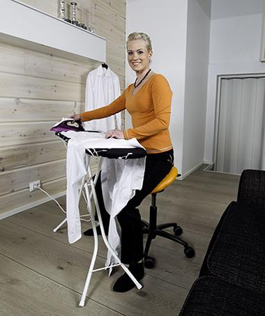 Krzesło siodłowe prace domowe
